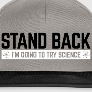 Stand Back Science  Caps & Hats - Snapback Cap