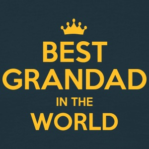best grandad in the world - Men's T-Shirt