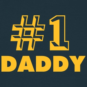 number one daddy - Men's T-Shirt