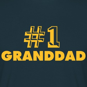 number one granddad - Men's T-Shirt