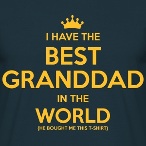 i have the best granddad in the world - Men's T-Shirt