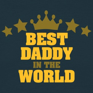 best daddy in the world stars - Men's T-Shirt
