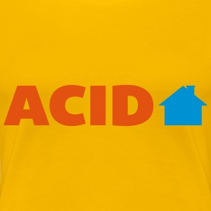 Acid House  T-Shirts - Frauen Premium T-Shirt