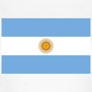 National Flag of Argentina T-skjorter - T-skjorte for kvinner