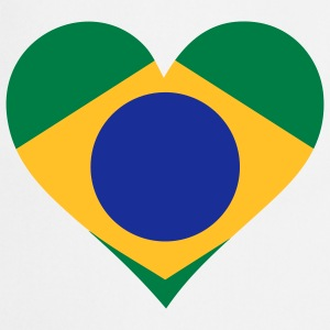 A Heart for Brazil  Aprons - Cooking Apron