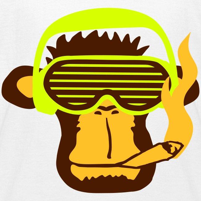 Monkey smoking  for Kids
