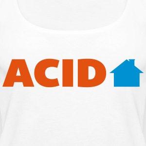 Acid House  Tops - Vrouwen Premium tank top