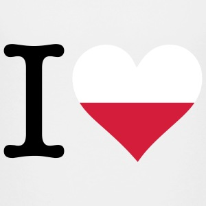 I Love Poland Shirts - Teenage Premium T-Shirt