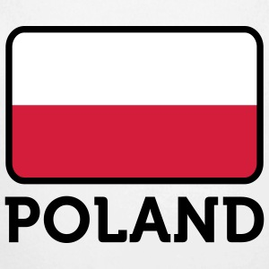 National Flag of Poland Babybody - Økologisk langermet baby-body