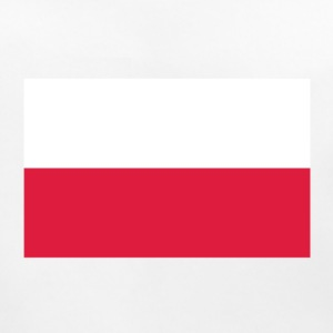 National Flag of Poland Accessories - Baby økologisk hagesmæk