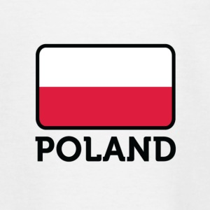 Nationalflagge von Polen T-Shirts - Kinder T-Shirt