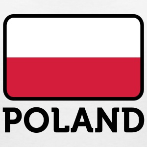 National Flag of Poland T-Shirts - Women's V-Neck T-Shirt