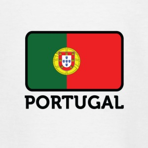 Nationalflagge von Portugal T-Shirts - Teenager T-Shirt