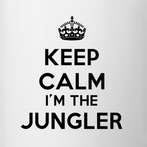 Mug blanc Keep calm I'm the Jungler - Tasse