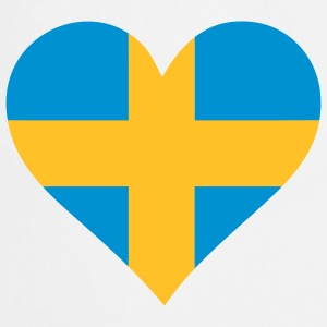 A heart for Sweden  Aprons - Cooking Apron