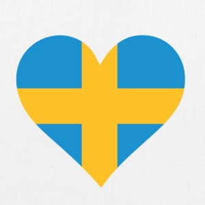 A heart for Sweden Bags & Backpacks - EarthPositive Tote Bag