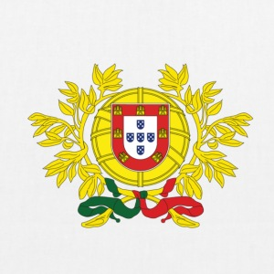 National coat of arms of Portugal Bags & Backpacks - EarthPositive Tote Bag