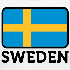 National flag of Sweden Accessories - Baby Organic Bib