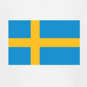 National flag of Sweden Shirts - Teenage T-shirt