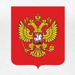 National Coat of Arms i Russland T-skjorter - Premium T-skjorte for kvinner