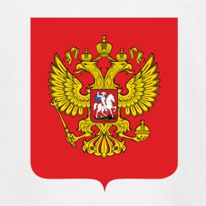National Coat of Arms i Russland Skjorter - T-skjorte for barn