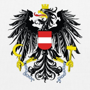 National coat of arms of Austria Bags & Backpacks - EarthPositive Tote Bag