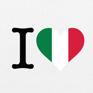 I Love Italy Bags & Backpacks - EarthPositive Tote Bag