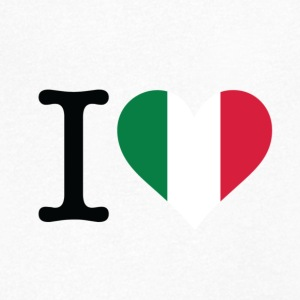 I Love Italy T-Shirts - Men's V-Neck T-Shirt