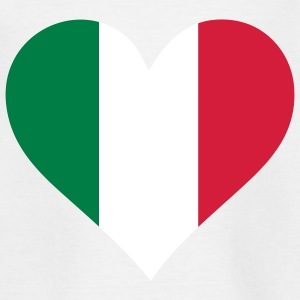 Et hjerte for Italien T-shirts - Teenager-T-shirt
