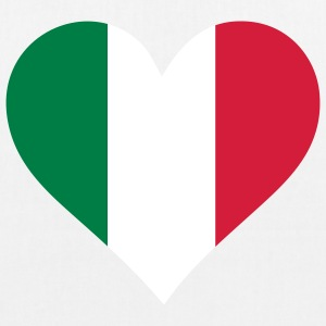 A Heart for Italy Bags & Backpacks - EarthPositive Tote Bag