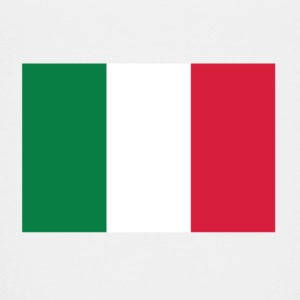 Nationale vlag van Italië Shirts - Teenager Premium T-shirt