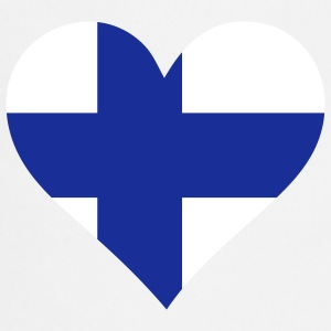 A heart for Finland  Aprons - Cooking Apron