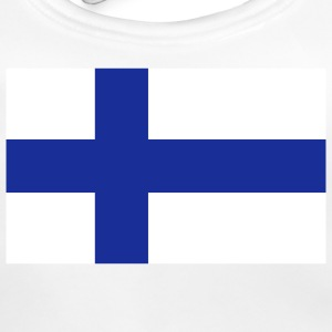 National Flag Finland Accessories - Baby økologisk hagesmæk