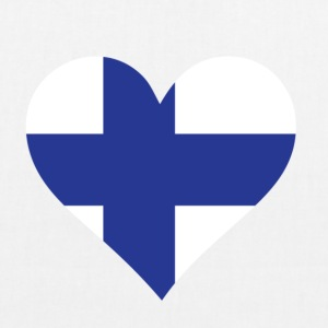 A heart for Finland Bags & Backpacks - EarthPositive Tote Bag