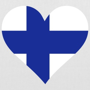 A heart for Finland Bags & Backpacks - Tote Bag
