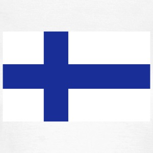 Nationalflagge von Finnland T-Shirts - Frauen T-Shirt