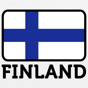 National Flag of Finland Bags & Backpacks - EarthPositive Tote Bag