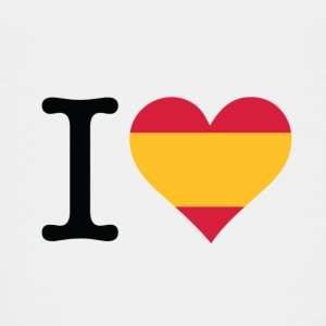 I love Spain Shirts - Teenage Premium T-Shirt