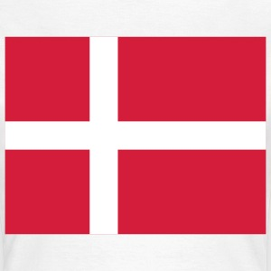 National flag of Denmark T-Shirts - Women's T-Shirt
