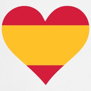 A heart for Spain  Aprons - Cooking Apron