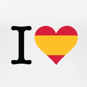 I love Spain T-Shirts - Women's Premium T-Shirt