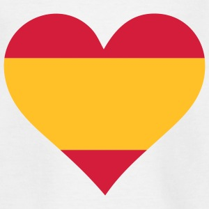 A heart for Spain Shirts - Teenage T-shirt