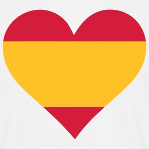 A heart for Spain T-Shirts - Men's T-Shirt