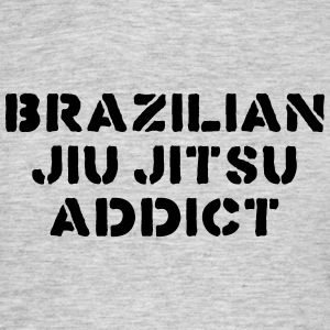 brazilian jiu jitsu addict 01 bjj - Men's T-Shirt