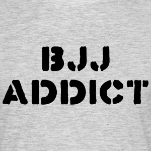 brazilian jiu jitsu bjj addict 01 - Men's T-Shirt