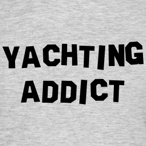 yachting addict 01 - Men's T-Shirt