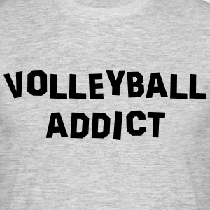 volleyball addict 01 - Men's T-Shirt