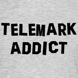 telemark addict 01 - Men's T-Shirt