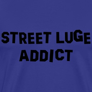 street luge addict 01 - Men's Premium T-Shirt