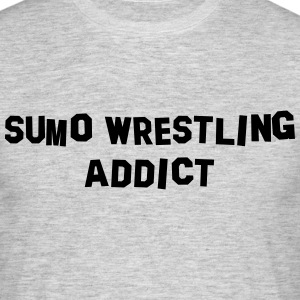 sumo wrestling addict 01 - Men's T-Shirt